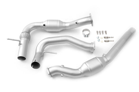 cp-e™ QKspl Catted Downpipe for 2017+ Ford F-150 Raptor