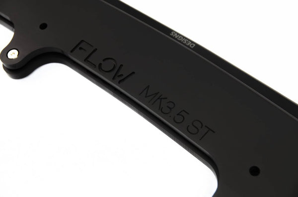 Flow Designs Front Splitters (2 Piece) for 2015+ Ford Focus ST