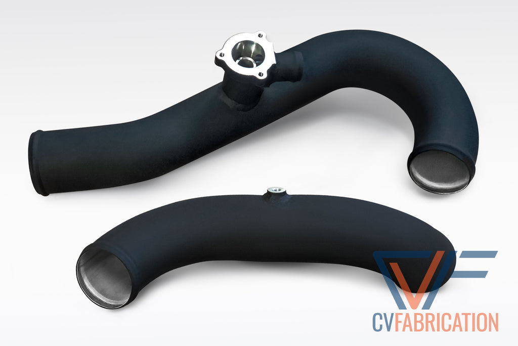 CVF Aluminum Intercooler Chargepipe Kit w/ Stock Style Flange for 2015+ Ford Ecoboost Mustang