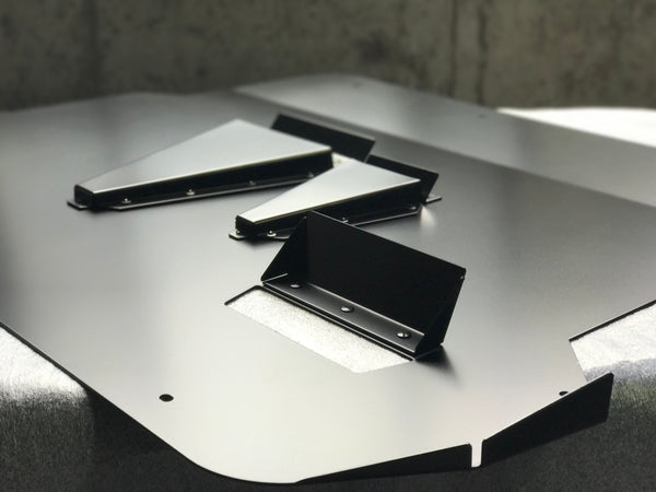 ADF Customs Aluminum Skid Plate/Undertray for 2016+ Ford Focus RS