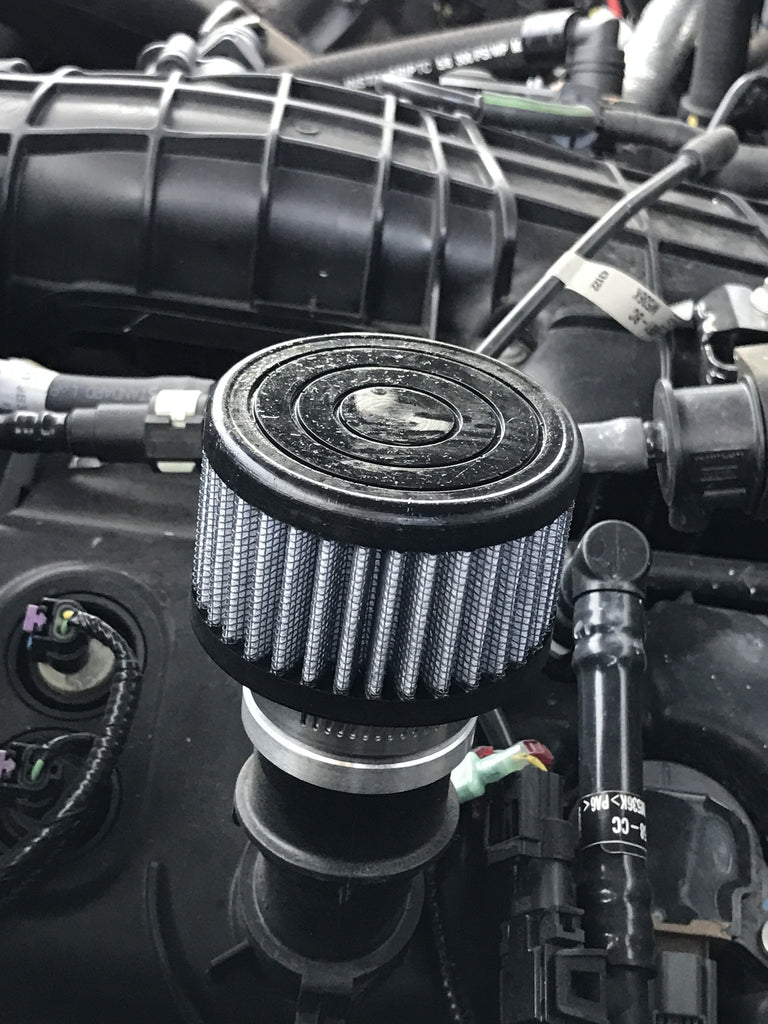 UPR Crankcase Breather for All Ecoboost Vehicles (Focus RS, Mustang,  Fiesta, Focus, F-150)