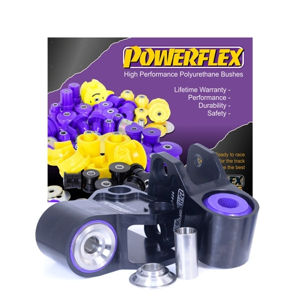 Powerflex Front Control Arm Anti-Lift & Caster Offset Rear Bushings for 2013+ Ford Focus ST/RS