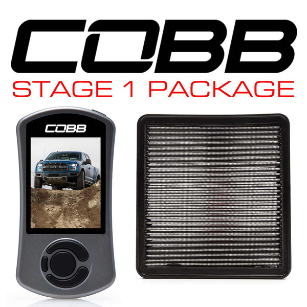 Cobb Tuning Stage 1 Power Package for 2017+ Ford F-150 Raptor