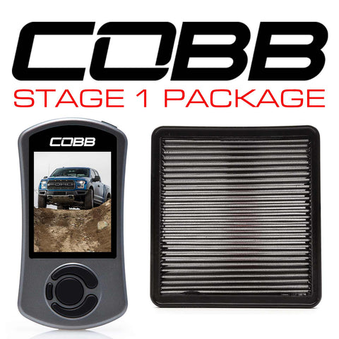 Cobb Tuning Stage 1 Power Package for 2017+ Ford F-150 Raptor (Includes Free TunePlus, Inc Custom E-tune)