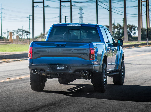 Borla X-Pipe with Mid-Pipes for 2017+ Ford F-150 Raptor