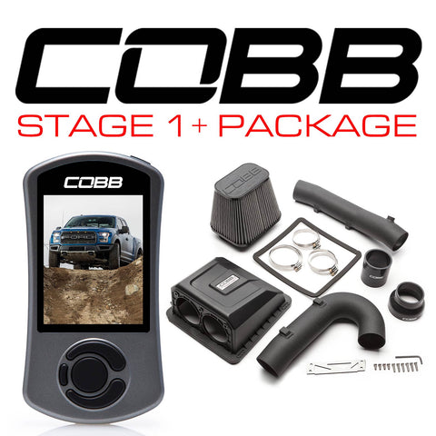 Cobb Tuning Stage 1+ Power Package for 2017+ Ford F-150 Raptor (Includes Free TunePlus, Inc Custom E-Tune)
