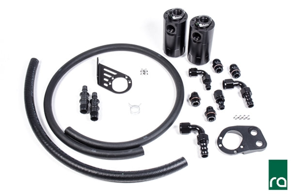 Radium Engineering Catch Can System for 2014+ Ford Fiesta ST