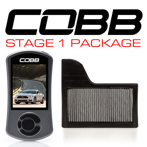 Cobb Tuning Stage 1 Power Package for 2015+ Ford Mustang Ecoboost