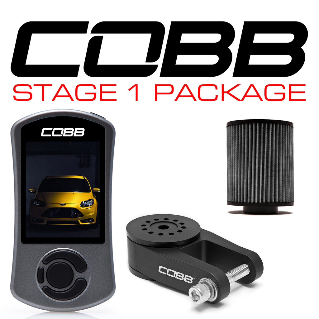 Cobb Tuning Stage 1 Power Package With V3 for 2013+ Ford Focus ST