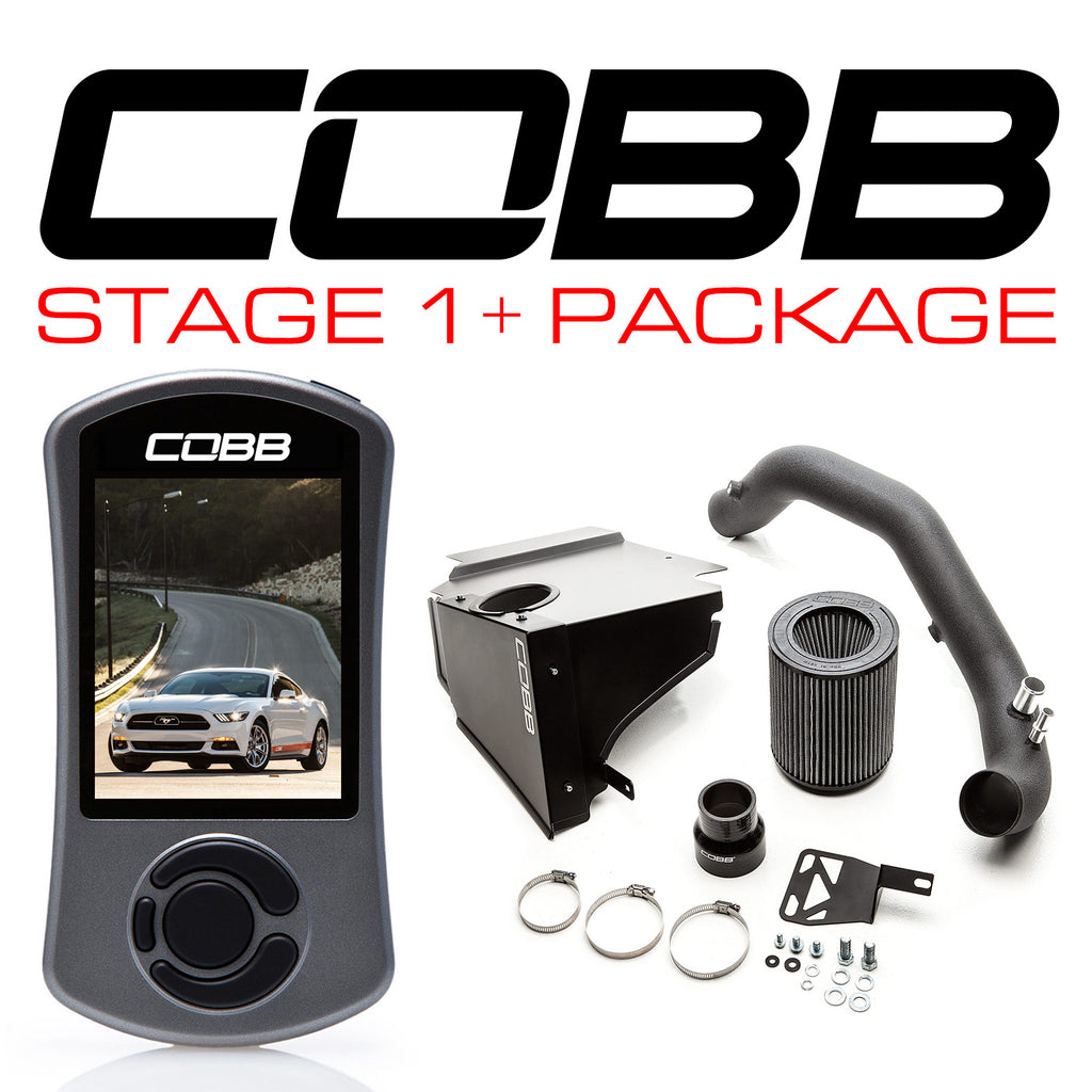 Cobb Tuning Stage 1+ Power Package for 2015+ Ford Mustang Ecoboost
