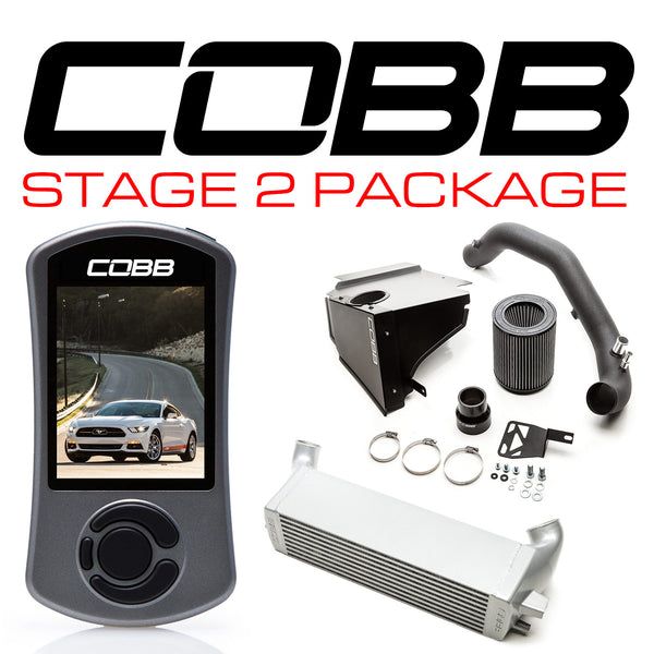 Cobb Tuning Stage 2 Power Package for 2015+ Ford Mustang Ecoboost