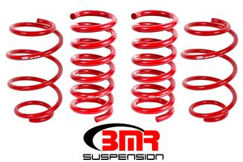 "BMR Suspension ""Minimal Drop"" Lowering Springs (Set of 4) for 2015+ Ford Mustang"