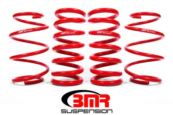 "BMR Suspension ""Minimal Drop"" Lowering Drag Springs (Set of 4) For 2015+ Ford Mustang GT (Boosted Application)"