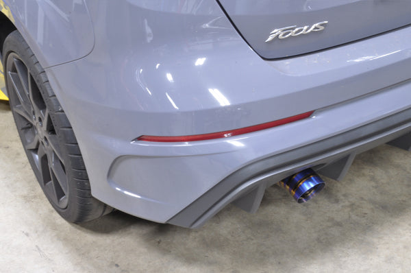 TUNE+ Titanium Single Exit Catback for 2016+ Ford Focus RS