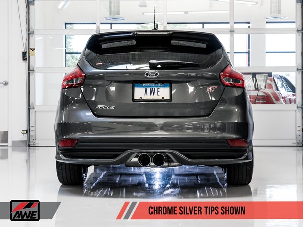 AWE Tuning Cat-Back Exhaust for 2013+ Focus ST