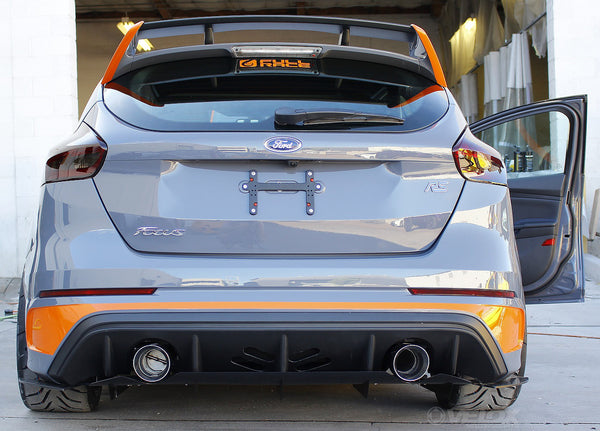 Verus Rear Diffuser for 2016+ Ford Focus RS – TUNE+
