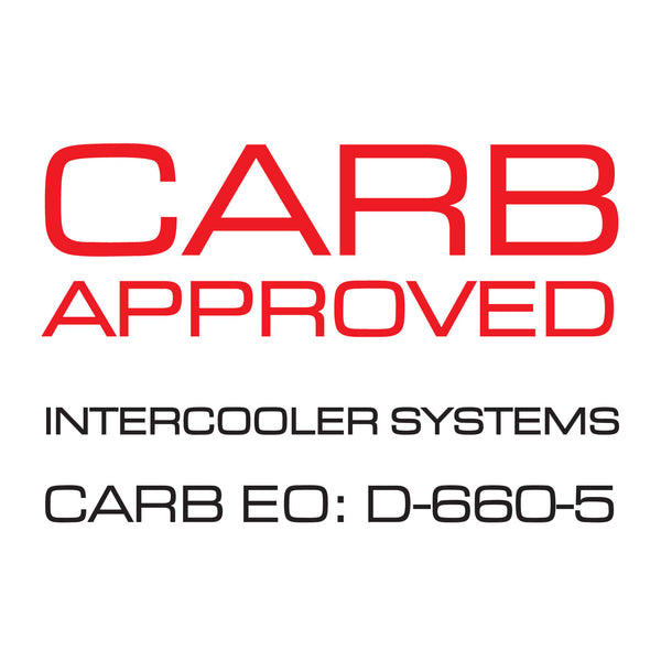 Cobb Tuning Front Mount Intercooler for 2014+ Fiesta ST - CARB Approved