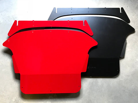 ADF Customs Aluminum Skid Plate/Undertray for 2014+ Ford Fiesta ST