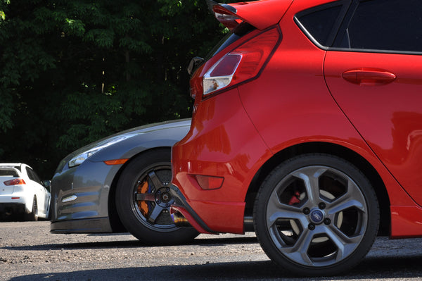TunePlus, Inc Titanium Catback for 2014+ Ford Fiesta ST