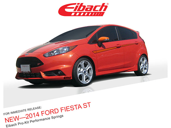 Eibach Pro-Kit for 2014+ Ford Fiesta ST