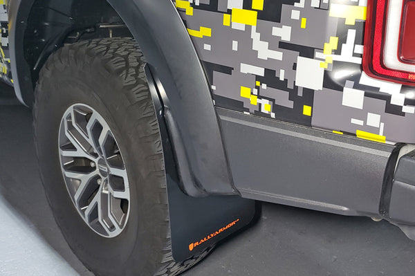 Rally Armor Mud Flaps for 2017+ Ford F-150 Raptor