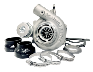 Precision / Turbonetics NX2 Drop-In Stock Location Turbo Upgrade for 15+ Ford Ecoboost Mustang & Ford Focus RS (11910/11918)