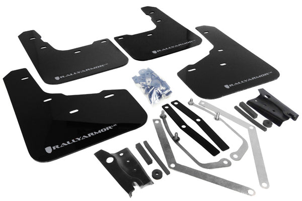 Rally Armor UR Mud Flaps for 2014+ Ford Fiesta ST