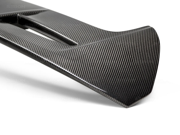 Anderson Composites ST-Style Carbon Fiber Rear Spoiler for 2014+ Ford Fiesta ST
