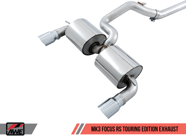 AWE Tuning Catback Exhaust for 2016+ Ford Focus RS (Track, Touring, & SwitchPath)