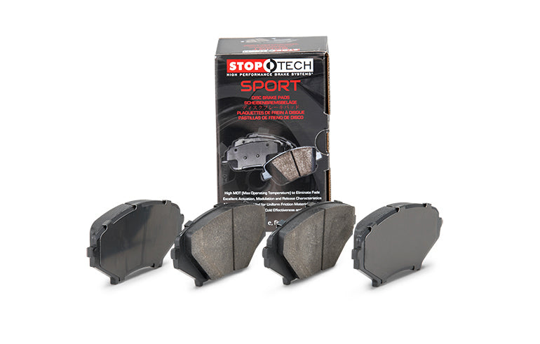 Stoptech Performance Premium Sport Brakes Pads for 2016+ Ford Focus RS