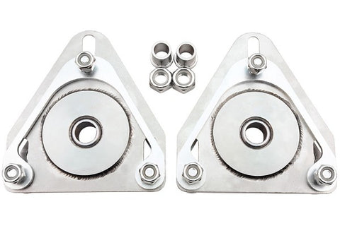 Steeda Upper Strut Mount Camber Plate Kit for Coilovers For 2015+ Ford Mustang