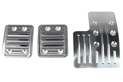 Steeda Premium Aluminum Heel/Toe Pedal Kit For 2013+ Ford Focus ST & 2016+ Ford Focus RS