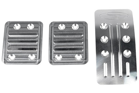 Steeda Premium Aluminum Pedal Kit For 2013+ Ford Focus ST & 2016+ Ford Focus RS