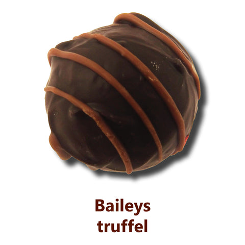 Chocolate promotional gifts, Baileys truffle