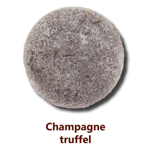 Champagne truffles, chocolate promotional gifts