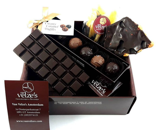 Corporate Gifts Amsterdam, Chocolate Gift box Amsterdam, Chocolade Relatiegeschenken Amsterdam.