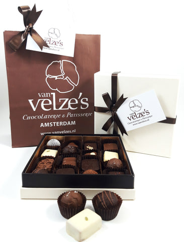 Luxury chocolate gift box Amsterdam, handmade Chocolates