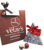Christmas tree giftbox, chocolate giftbox christmas, kerstboom cadeau, kerst chocolade amsterdam