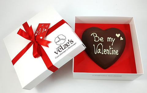 Luxury Chocolate Valentine Heart Amsterdam Van Velze S Chocolate