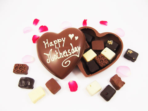 Mothersday Chocolate heart! Van Velze's Amsterdam