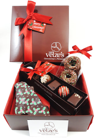 Christmas Business Gifts.Corporate Chocolate Christmas Gifts Van Velze S Amsterdam