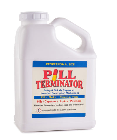 Pill Terminator Pill Disposal Container - Gallon Size