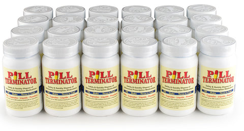 Pill Terminator Safe Disposal - 300 cc (Pack of 24)