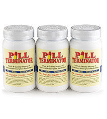 Pill Terminator Safe Disposal - 300 cc (Pack of 3)