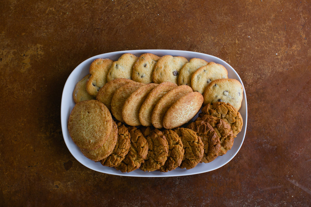 Chocolat Chip, Snickerdoodle & Peanut Butter Cookies