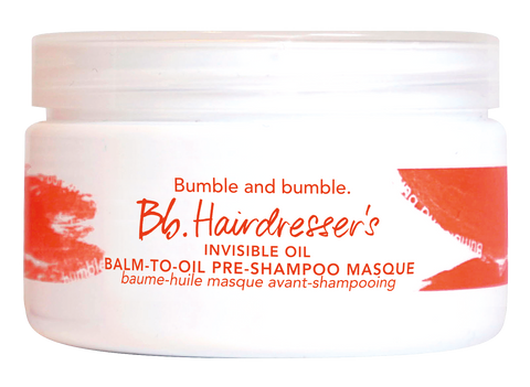 Bumble | Hairdresser's Invisible Oil Dry Oil Balm To Oil Mask
