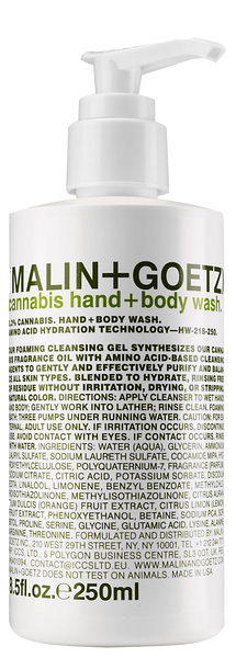 Malin + Goetz | Cannabis Hand + Body Wash