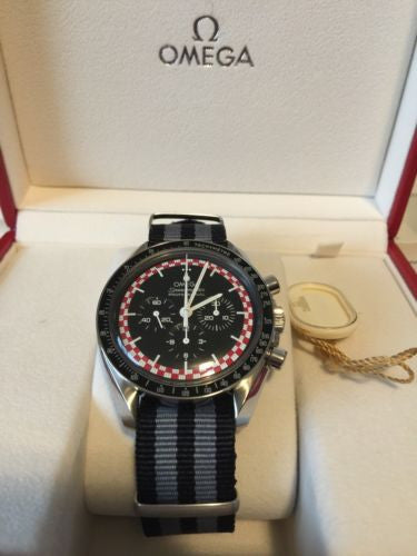 Omega Speedmaster Mens Professional Moonwatch Tin Tin 311.30.42.30.01.004 Rare!