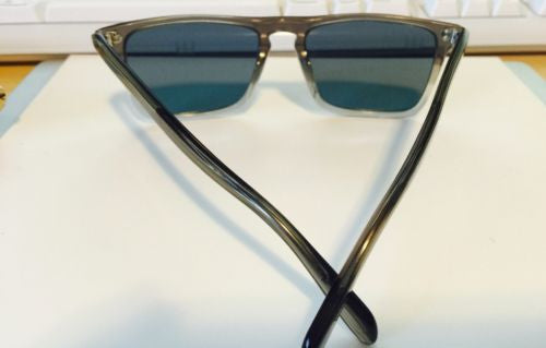 New Oliver Peoples Bernardo Vintage grey fade Blue VFX+  lens Sunglasses italy