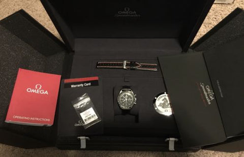 2015 LNIB AUTHENTIC OMEGA SPEEDMASTER MENS  WATCH  MOONWATCH 311.33.42.30.01.001